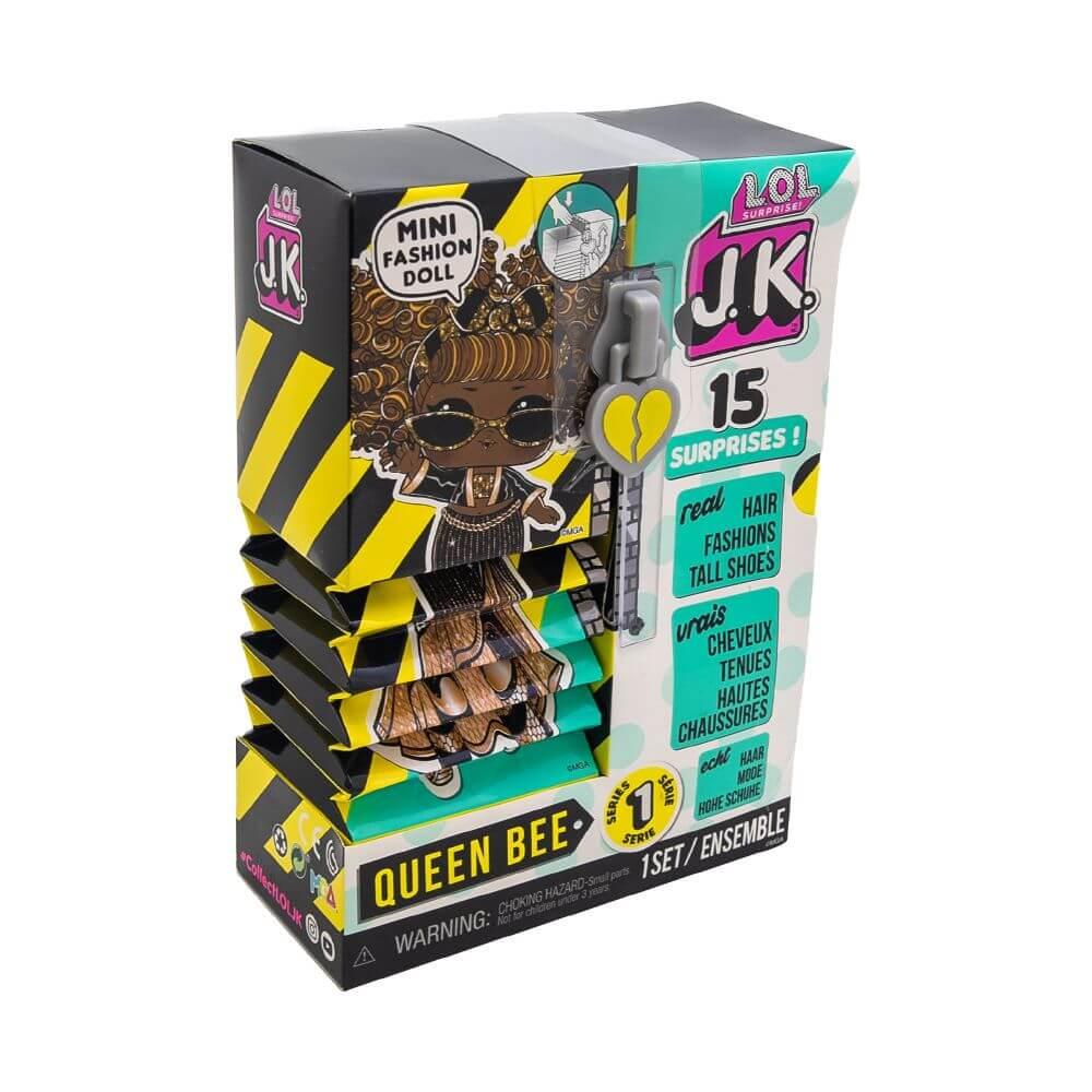 Кукла LOL Surprise Mini Fashion Doll (Мини модницы) JK Queen Bee с 15 сюрпризами - 2