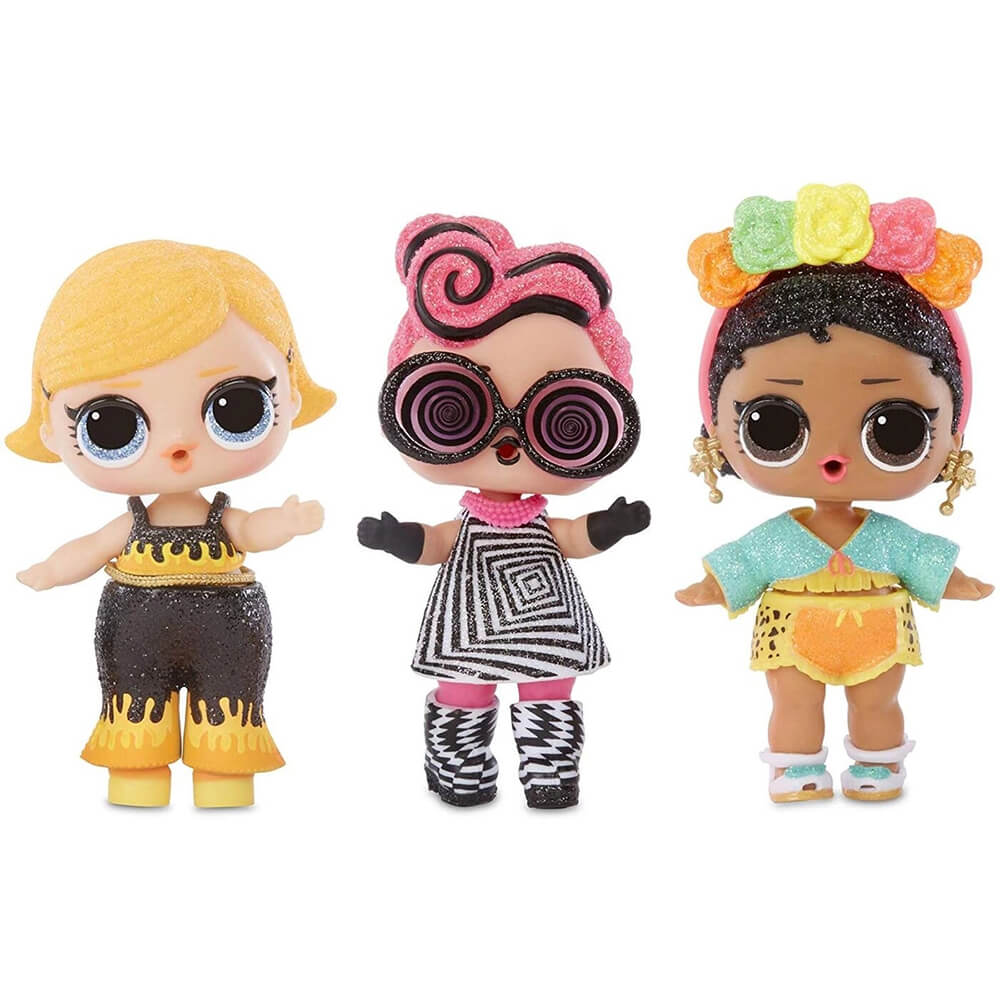 Кукла LOL Surprise LIGHTS GLITTER (Светящаяся блестящая кукла) - 5